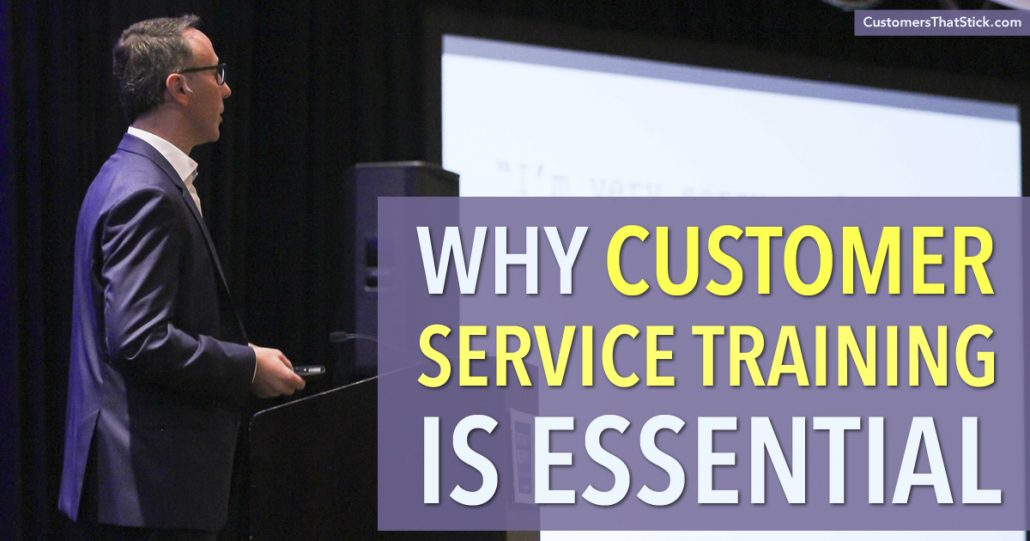 Why Customer Service Training Is Essential | Adam Toporek Credentialed Master Trainer Speaking